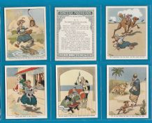 Tobacco cigarette cards aet  Eastern Proverbs 1934 4 th series